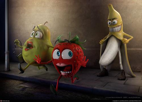 exibicionista frutifero