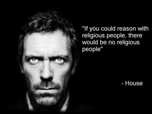House y la religion